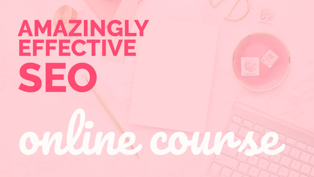 Amazingly Effective SEO online course (search engine optimization)
