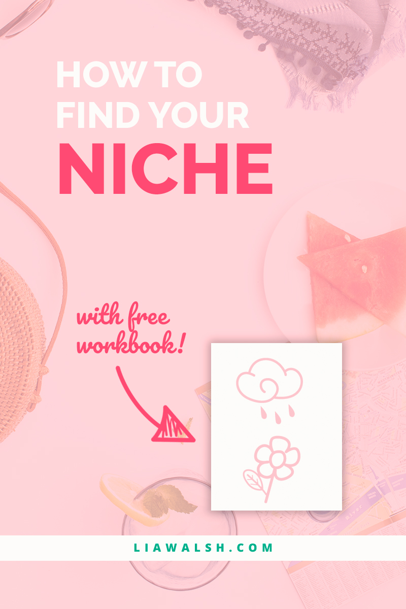 How to find your niche (market) with free workbook download
