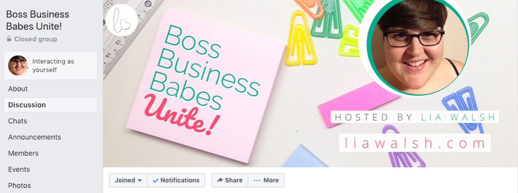 Boss Business Babes Unite Facebook group for business women