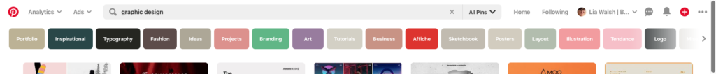 Pinterest keyword tool for SEO research by Lia Walsh (Business-Consultant)